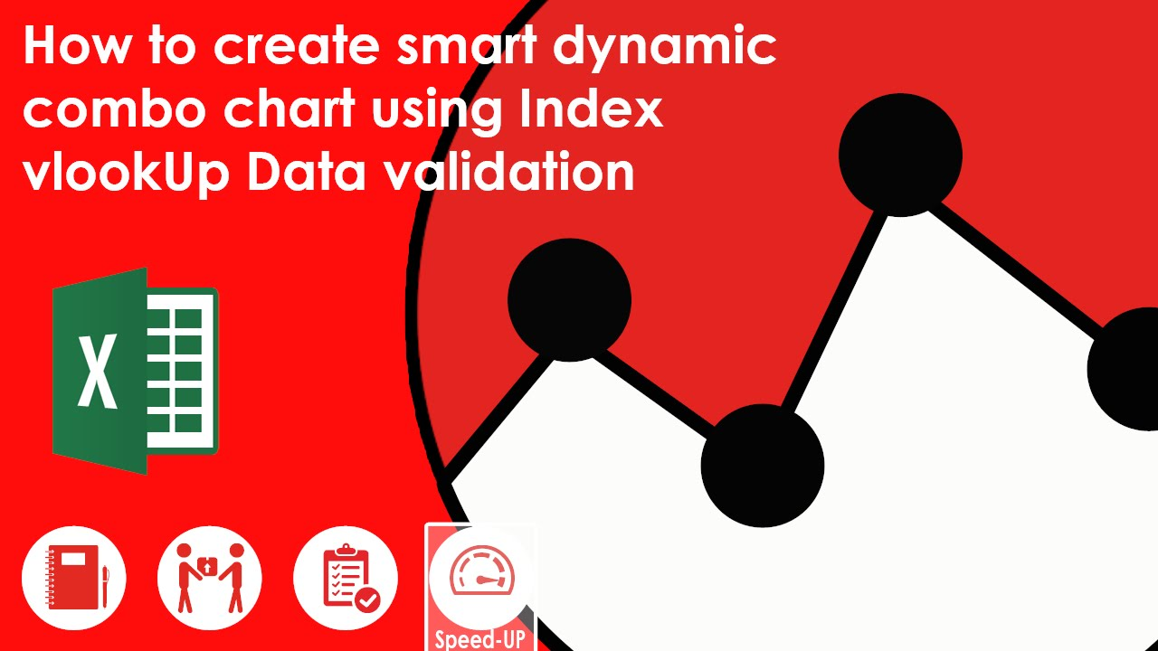 How to create smart dynamic combo chart using index vlookup data how to create smart dynamic combo chart using index vlookup data validation youtube ccuart Gallery