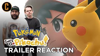 Let's Go Pikachu Eevee Trailer Reaction - Christian Ruvalcaba and Cody Hall