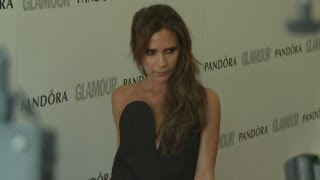 Victoria Beckham gives rare interview at the Glamour Awards 2013: She talks David Beckham and USA