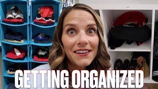 BACK TO SCHOOL PREP AND ORGANIZATION | SCHOOL CLOTHES, SUPPLIES, AND LUNCH ORGANIZING IDEAS FOR MOMS