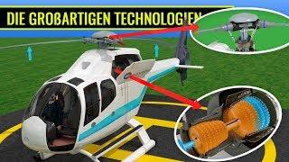 Wie fliegt ein Hubschrauber?