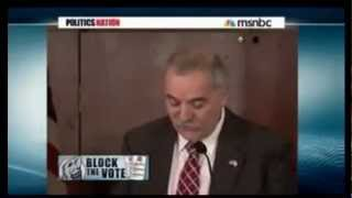 Worthless Maine GOP Charlie Webster pulling the con on Ron Paul - MSNBC Al Sharpton