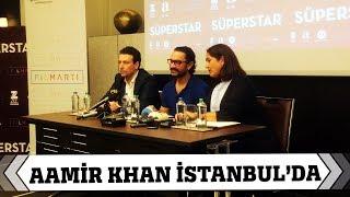 Aamir Khan Yeni Filmi Secret Superstar'ın Tanıtımı İçin Türkiye'ye Geldi
