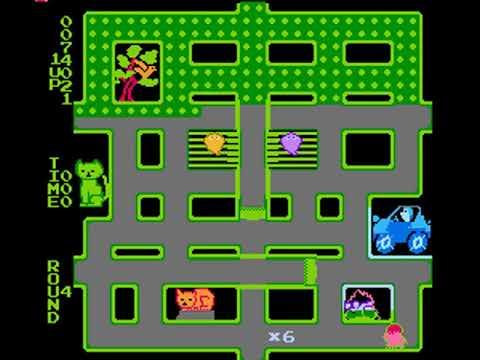 Brush Roller (Famicom) Gameplay