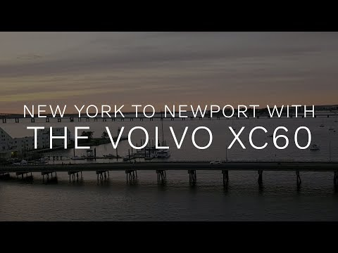New York à Newport en Volvo XC60 Twin Engine