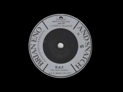 Brian Eno And Snatch • RAF (1978) UK