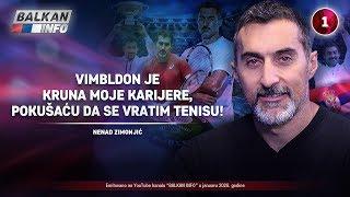 INTERVJU: Nenad Zimonjić - Vimbldon je kruna moje karijere, pokušaću da se vratim tenisu! (5.1.2020)