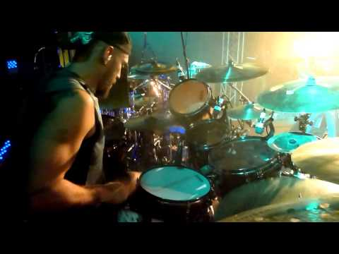 Cephalic Carnage - Raped By An Orb (Official Live Drum Video)