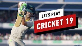 40 Minuten van Cricket 19 Gameplay - IGN Speelt