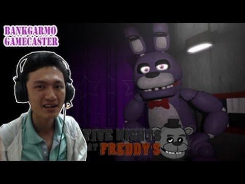 เล่นเป็นบอนนี่ไปฆ่ายามไมค์!? มันส์สิครับงานนี้ ;w;b :-Five Nights At Freddy's Bonnie Simulator