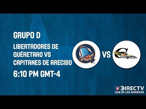 Libertadores de Querétaro v Capitanes de Arecibo - Full Game