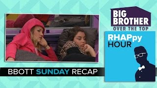BBOTT RHAPpy Hour | CBS Big Brother 2016 OTT Weekend Update | Rob Has A Podcast BBUS Sun October 23