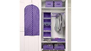 JOY 32pc Ultimate Closet Organization with Huggable Hang...