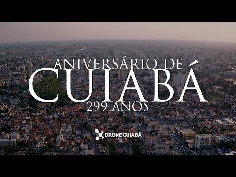 Aniversário de Cuiabá 299 Anos - Homenagem Drone Cuiabá 4K