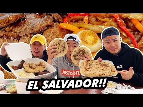 IS SALVADORAN DIFFERENT FROM MEXICAN FOOD? PUPUSA BUFFET!