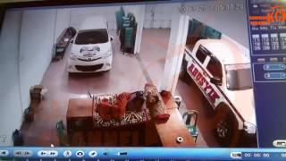 Detik-detik Becana Gempa, Sigli - Aceh, Rekaman CCTV - 7 Desember 2016