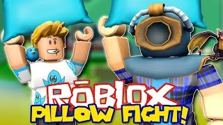 IT'S BROKEN! | ROBLOX Pillow Fight w/ Gamer Chad!
