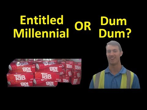 Entitled Millennial or Just a Dum Dum ~ Work Vlog Moving car