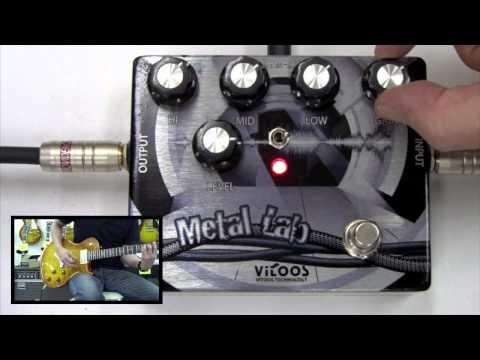 【試奏動画】VITOOS METAL LAB VEP1 OLD HEAVY DISTORTION ディストーション