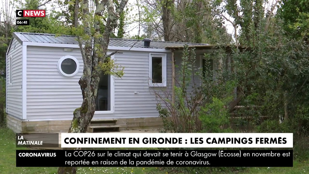 En raison du confinement, les campings en Gironde restent fermés