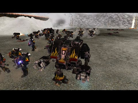 Expansion DLC 2021: 1 vs 3: Legion of the Damned vs Chaos Space Marines - Dawn Of War: Soulstorm |