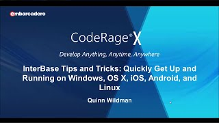 #30 - InterBase Tips and Tricks: Windows, OS X, iOS, Android, and Linux