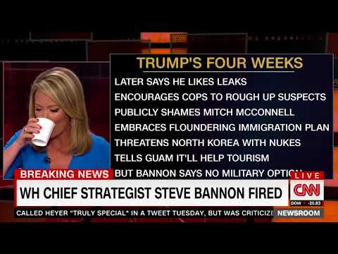 CNN's Brooke Baldwin reads out list of chaotic moments in Trump's last four weeks