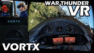 VORTX 4D Simulator + Saitek X52 Pro | WARTHUNDER VR (P-26A Peashooter)