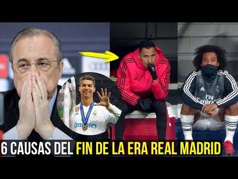 6 RAZONES DEL FIN DE LA ERA DEL REAL MADRID ¿ESTÁS DE ACUERDO?