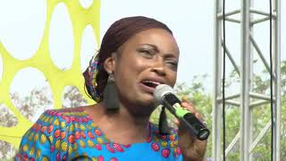 Gambar cover Christine during the ministration by Pastor William McDowell - Lusaka Zambia