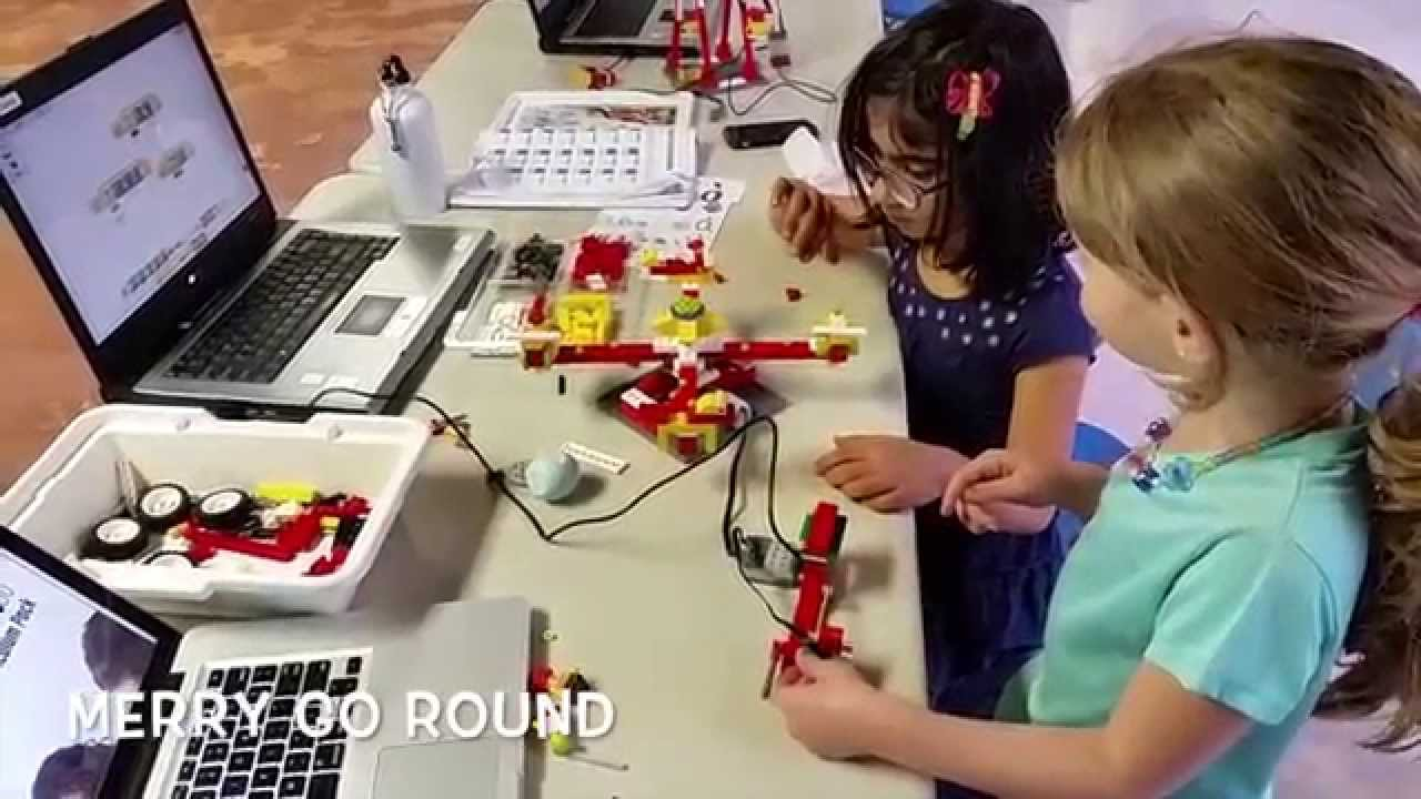 LEGO WeDo House, See-saw, Merry-go-round and Ferris Wheel at LEGO ...