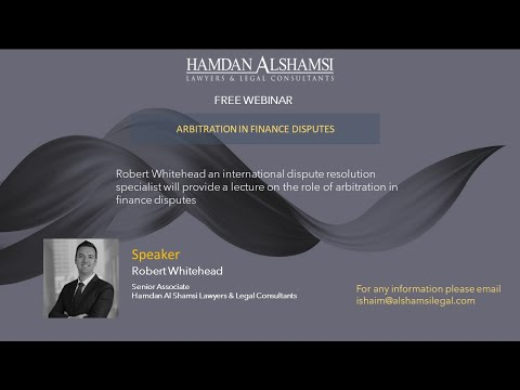 Arbitration in Finance Disputes