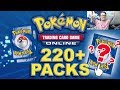 Too Many Rainbow Rares!? Opening 217 Crimson Invasion Packs on Pokemon TCG Online!