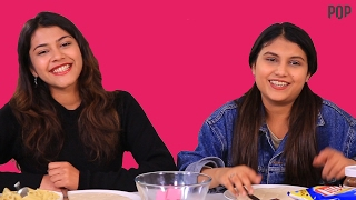 Pizza Challenge | Cherry & Rajeshwari Take The Pizza Challenge - POPxo