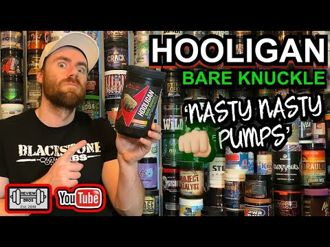 👊🏼 HOOLIGAN BAREKNUCKLE PRE WORKOUT REVIEW | WOW 😳