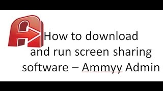 How to download and run Ammyy Admin