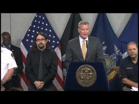 Mayor de Blasio Hosts Press Conference