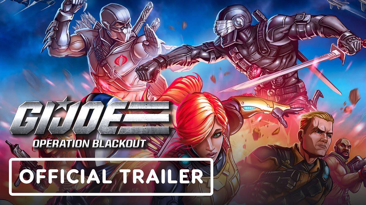 G I Joe Operation Blackout Official Reveal Trailer Youtube