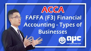 ACCA F3 Financial Accounting Types of Businesses