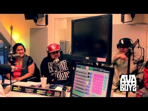 """AVA BOYZ """"90.3 FM KNBA Anchorage Island Style Radio Station"""" SPECIAL GUEST [AVA BOYZ] 2013"""