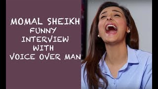Momal Sheikh Funny Interview with Voice Over Man - Episode 30