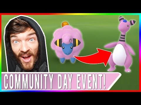 POKÉMON GO COMMUNITY DAY EVENT! Shiny Mareep Hunting Live in
