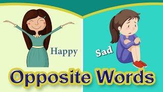 Opposites Words for Kids | Opposite Words | Opposite Words in English
