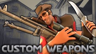 TF2: Unofficial New Weapons [Live] Mod