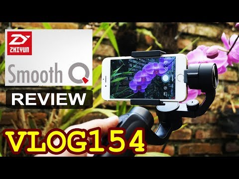 Review Zhiyun Smooth Q 3 Axis Gimbal Kamera Indonesia - Untuk Android, IPhone, GoPro
