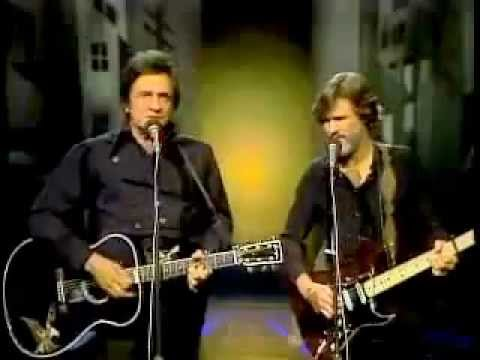 Johnny Cash & Kris Kristofferson  Sunday Morning Coming Down