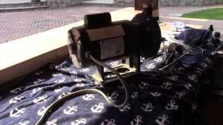 Replacing Main Seal On Polaris PB-4 Booster Pump.