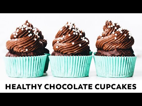 The BEST Healthy Chocolate Cupcakes {vegan, gluten-free, date-sweetened}