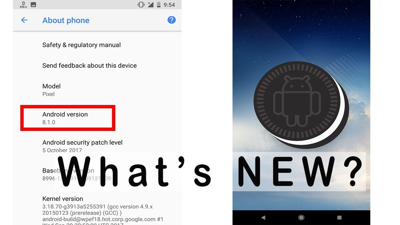 Android 8 1    What's NEW?