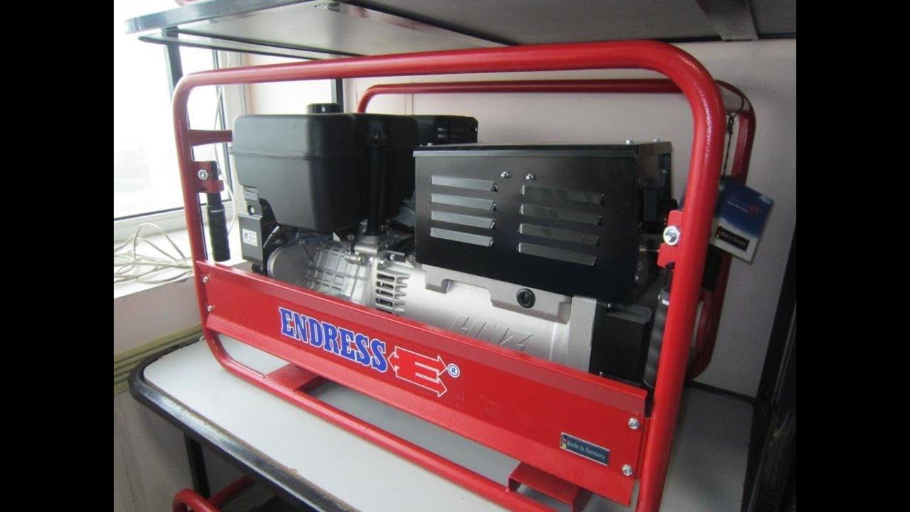 Бензиновый трехфазный генератор SDMO Technic 20000 TE AVR - YouTube